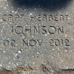 "Memorial Paver Brick dedication - Captain/EMT Herbert ""Herbie"" T. Johnson"