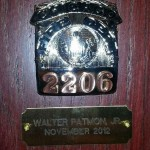 Badge Dedication for Walter Patmon