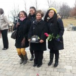 Paver Dedication Ceremony